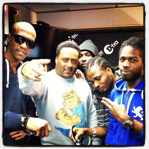 BBC 1Xtra Dancehall with Robbo Ranx 2012-03-29 Big Ship Crew in the studio