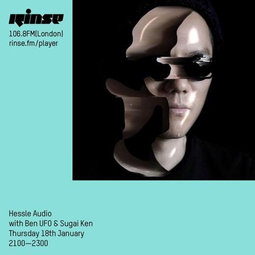 Ben UFO and Sugai Ken - Hessle Audio show on Rinse FM 2018-01-18