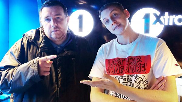 Benji B 2017-11-02 Toddla T sits in + Slimzee in 3 records
