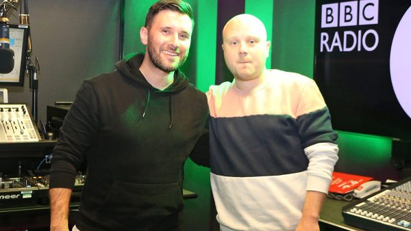 Danny Howard 2018-03-16 with Huxley