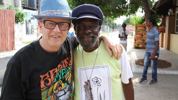 David Rodigan 2016-10-23 Kingston Studio Tour