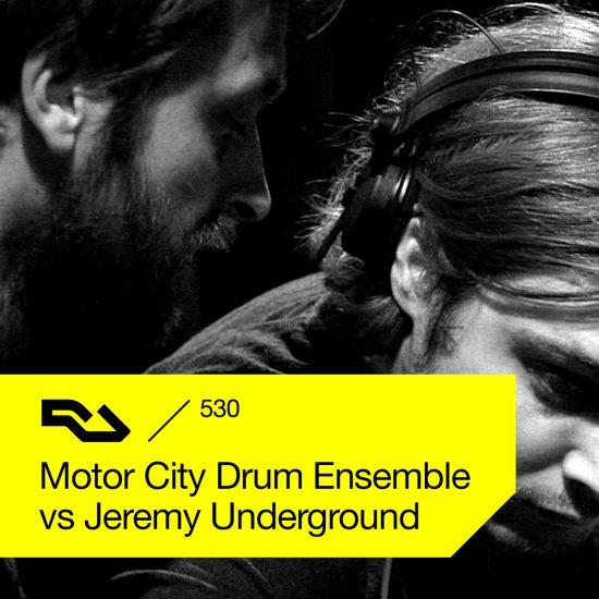 Motor City Drum Ensemble vs Jeremy Underground - Resident Advisor podcast #530 2016-07-25 live at Robert Johnson, Germany