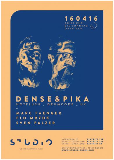 Adam Beyer - Drumcode #299 2016-04-22 Dense & Pika live at Studio, Essen, Germany