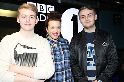 Annie Mac Mashup 2012-12-21 Disclosure in the studio