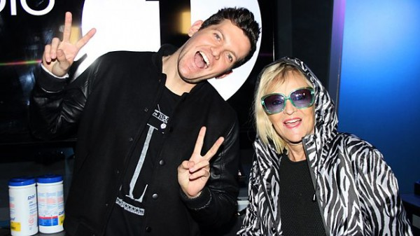 Annie Nightingale 2014-10-29 Dillon Francis in the studio + The 2 Bears Quest mix