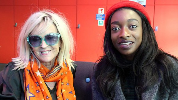 Annie Nightingale 2015-11-25 with Little Simz, MJ Cole and Claptone