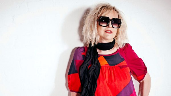 Annie Mac 2016-07-19 Annie Nightingale sits in