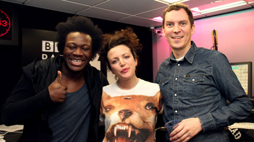 Annie with Benga & Artwork from Magnetic Man