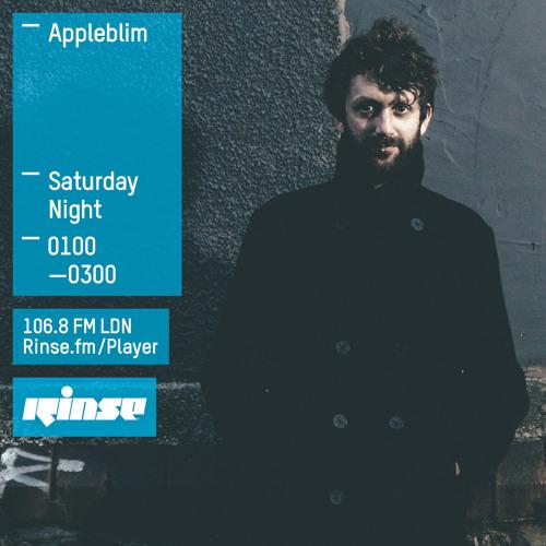 Appleblim on Rinse FM 2015-06-20