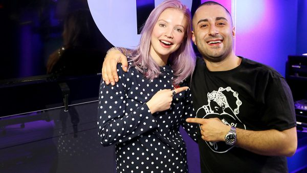 B.Traits 2016-12-17 Joseph Capriati co-host Christmas Special