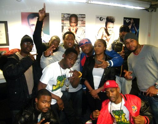 BBC 1Xtra Dancehall with Robbo Ranx 2011-12-15 Robbo's Xmas Party - Gappy Ranks, Stylo G, Lea-anna and Christopher Ellis