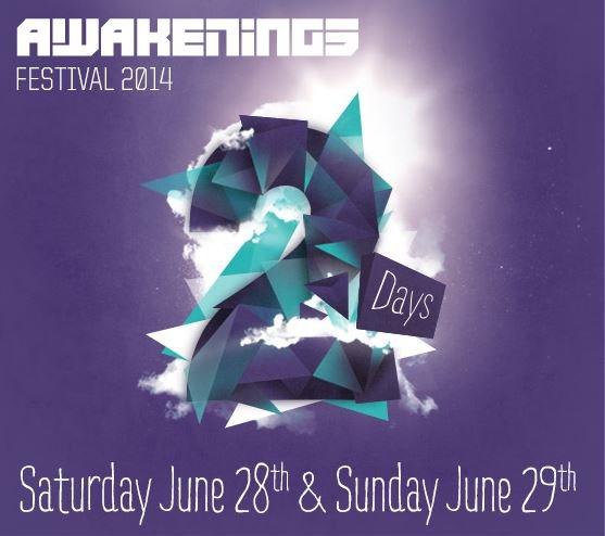 Pangaea & Pariah @ Awakenings Festival 2014, Spaarnwoude 2014-06-29