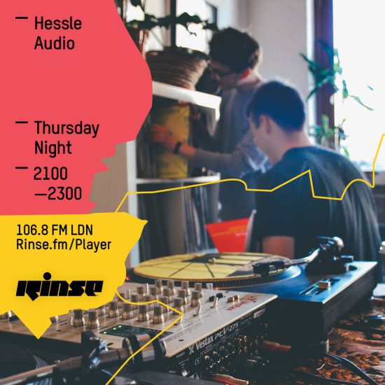 Ben UFO - Hessle Audio show on Rinse FM 2016-04-21 live at Twitch, The Bunatee, Belfast
