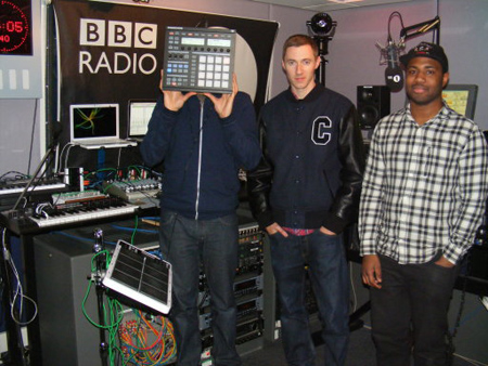 BBC Radio 1 Benji B Exploring future 2011-03-10 SBTRKT and Sampha perform live in the studio