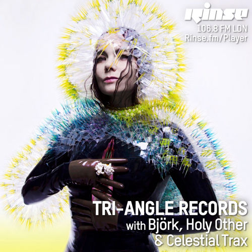 Björk, Robin Carolan, Holy Other - Tri Angle Records show on Rinse FM 2015-02-18