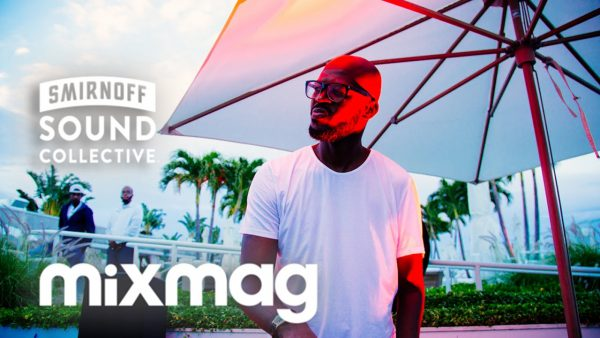Black Coffee in The Mixmag Lab Miami for Miami Music Week 2017-03-28