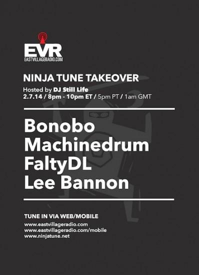 Bonobo, Machinedrum, FaltyDL & Lee Bannon - Ninja Tune EVR Takeover 2014-02-07