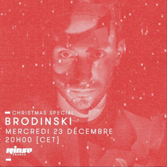 Brodinski on Rinse FM France 2015-12-23 Christmas Special