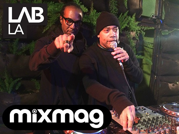 Carl Craig And Stacey Pullen - Detroit Love Mixmag Lab La Techno Takeover 2014-12-21