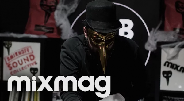 Claptone in The Mixmag Lab LDN 2015-10-30