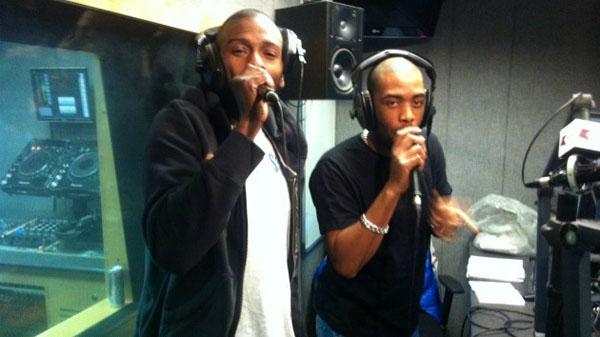 Crazy D & Hatcha on Kiss 100 2012-04-11 Dubstep show with Mc Flowdan and Tunnidge