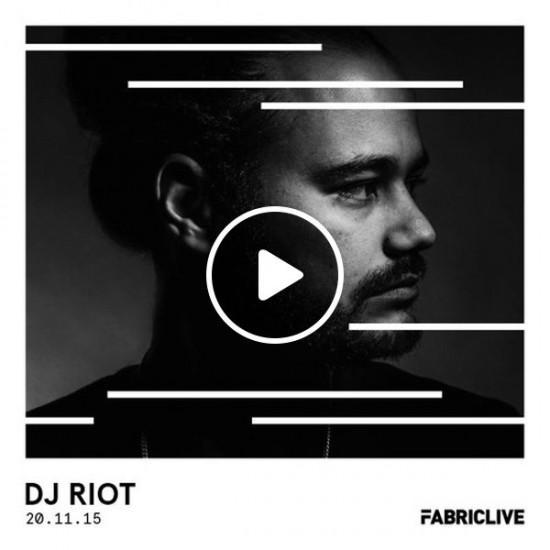 DJ Riot (Buraka Som Sistema) - FABRICLIVE Promo Mix 2015-11-02