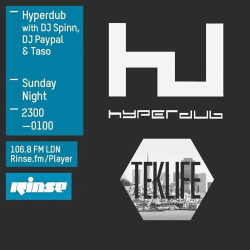 DJ Spinn, DJ Paypal & Taso - Hyperdub show on Rinse FM 2015-11-08