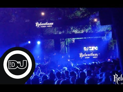 DJ Zinc live from the Relentless Energy stage at Leeds Festival 2018-08-27