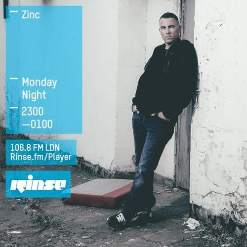 DJ Zinc on Rinse FM 2015-07-20