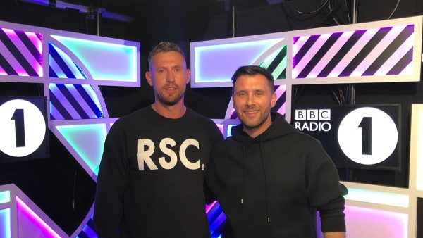Danny Howard 2019-04-26 with Cristoph