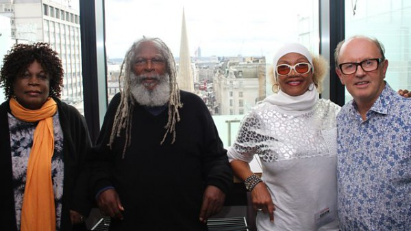David Rodigan 2015-09-13 with Marcia Griffiths, Bob Andy and Judy Mowatt