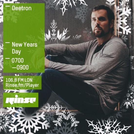 Deetron on Rinse FM 2016-01-01