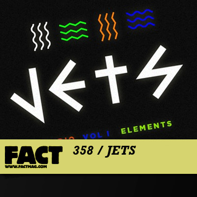 FACT mix 358 by JETS (aka Jimmy Edgar and Machinedrum)