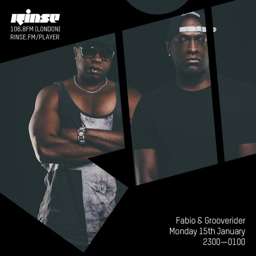 Fabio and Grooverider on Rinse FM 2018-01-15