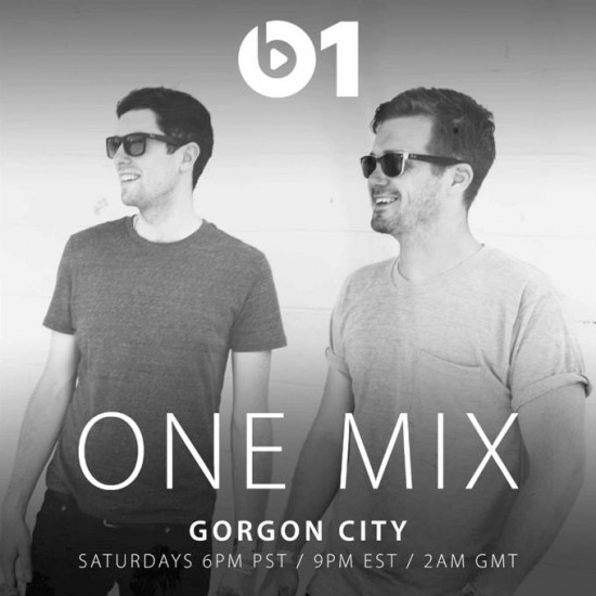 Gorgon City - One Mix on Beats 1 2015-10-10