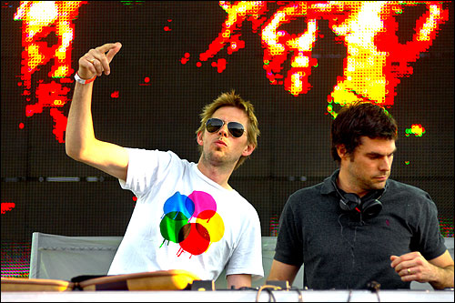 Groove Armada live at We Love Space Sundays in Space, Ibiza 2012-07-29