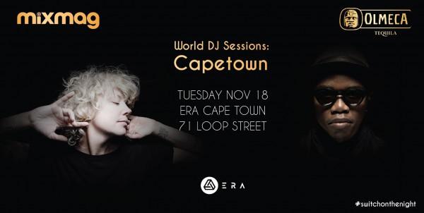 Heidi live at Era, Cape Town (Olmeca Mixmag World DJ Sessions) 2014-11-18