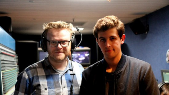 Huw Stephens 2012-09-20 The xx co-host, King Krule in session