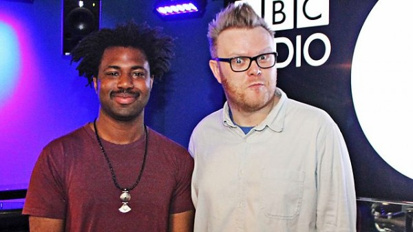 Huw Stephens 2013-12-12 Sampha in session