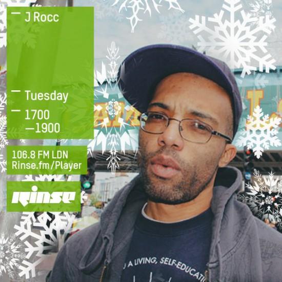 J-Rocc on Rinse FM 2015-12-29