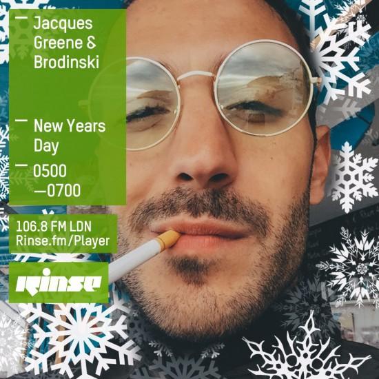 Jacques Greene & Brodinski on Rinse FM 2016-01-01