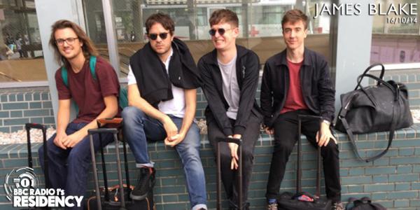 James Blake - BBC Radio 1s Residency 2014-10-16 recorded on his Japanese tour bus