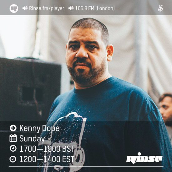 Kenny Dope on Rinse FM 2016-07-10