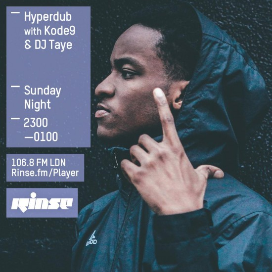 Kode9, Bok Bok and DJ Taye - Hyperdub show on Rinse FM 2015-06-14