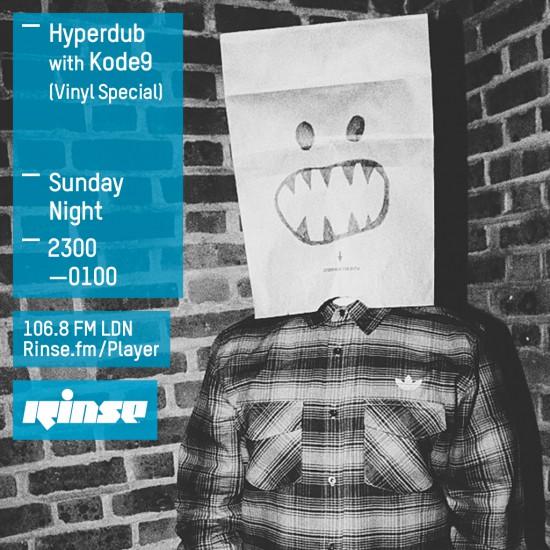 Kode9 - Hyperdub show on Rinse FM 2015-07-12 Vinyl Special