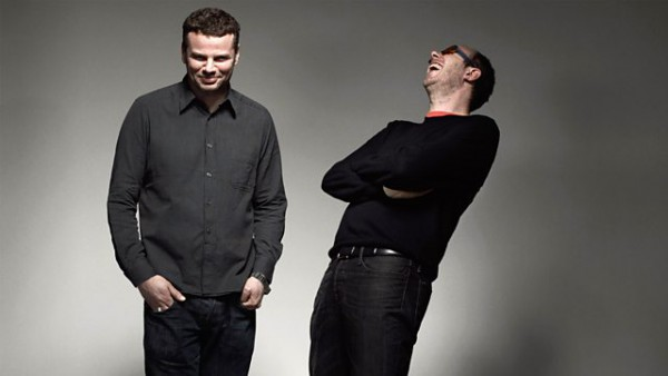 Lauren Laverne with The Chemical Brothers 2015-12-25 Chemical Christmas