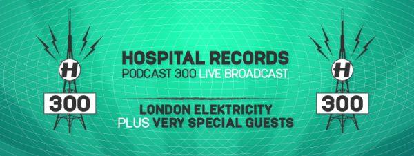 London Elektricity - Hospital Podcast #300 2016-05-16