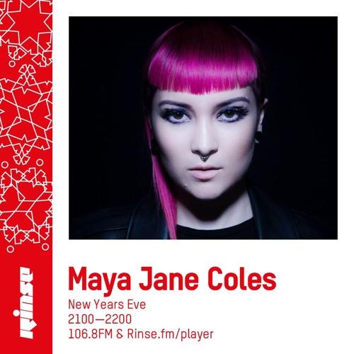 Maya Jane Coles on Rinse FM 2018-12-31
