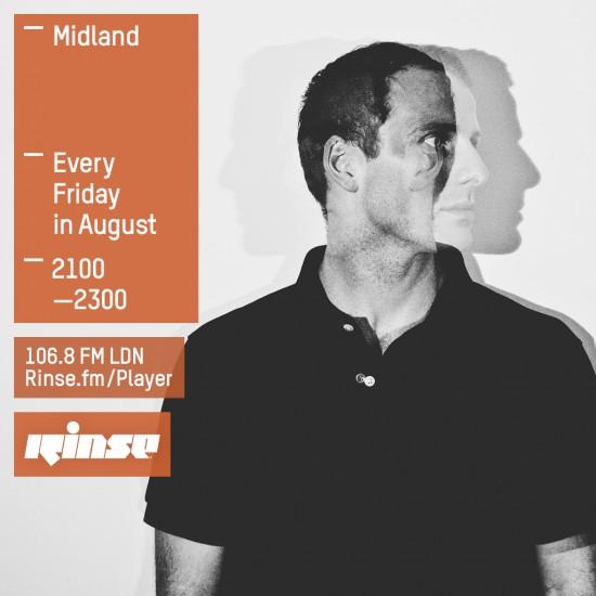 Midland on Rinse FM 2015-08-07