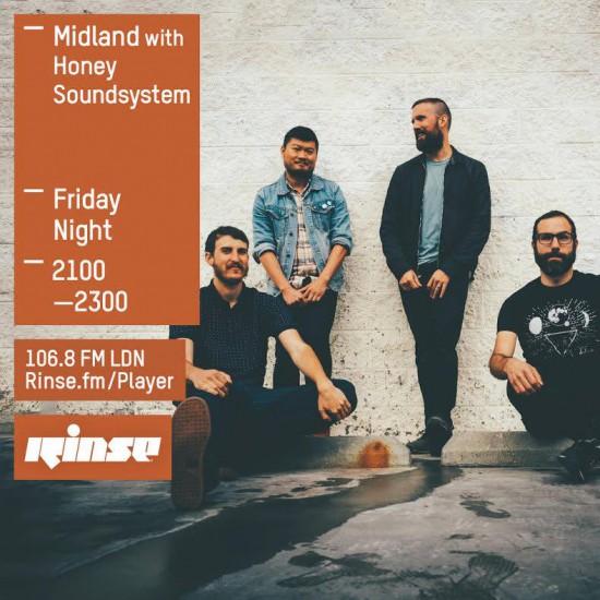 Midland on Rinse FM 2015-08-28 with Honey Soundsystem